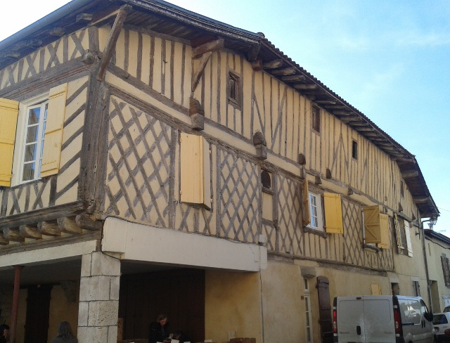 Maison aux colombages