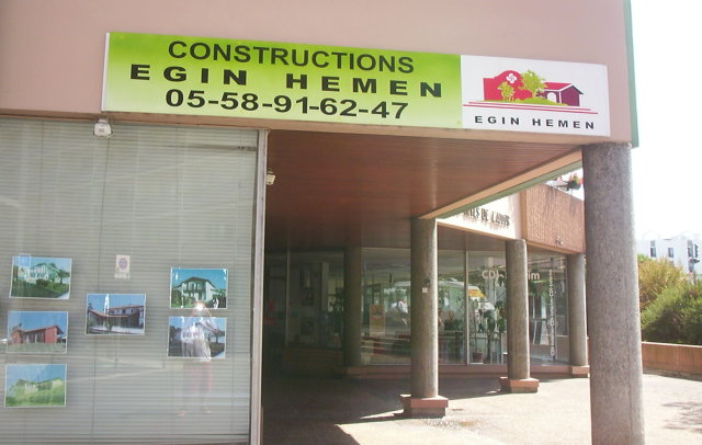 Egin hemen agence de dax for Constructeur maison individuelle dax