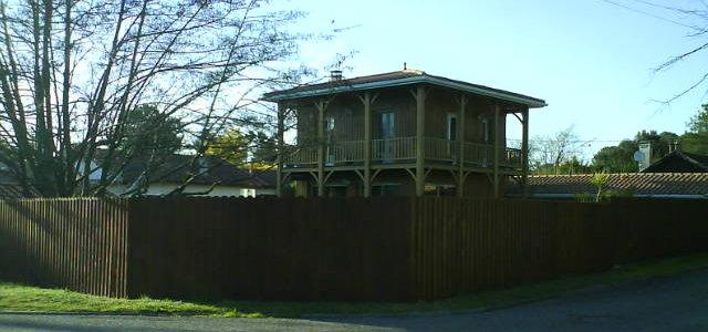 Maison de bois au claouey - Maison bois cap ferret ...