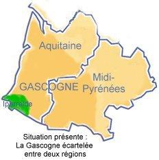 Gascogne région