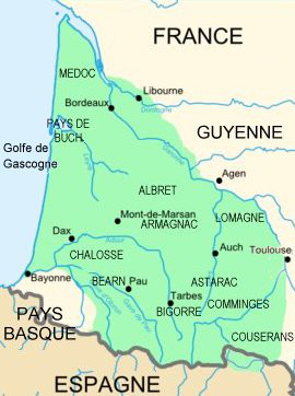 Gascogne région